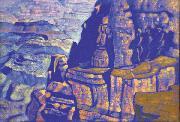Н.К. Рерих. Аризона. Большой Каньон. 1921