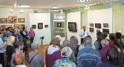 ВПЕРВЫЕ НА СИБИРСКОЙ ЗЕМЛЕ. Открытие выставки С.Н. Рериха